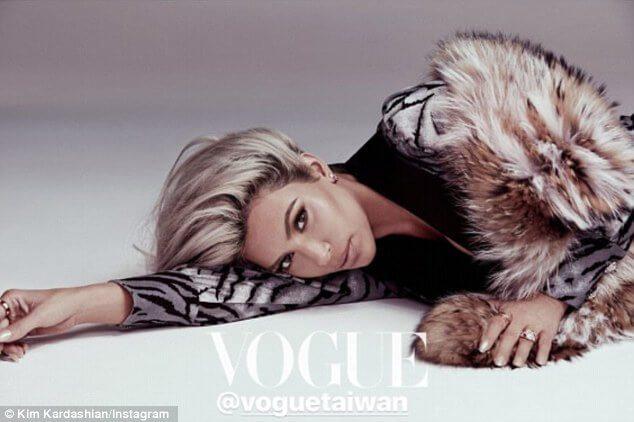 Kim K Vogue