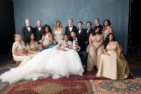 Official Photos From Serena Williams & Alexis Ohanian's Star Studded Luxurious White Wedding