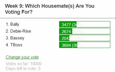 Bigbrother Online Poll