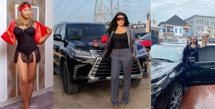Actress Mimi Orjiekwe Gets A Brand New Lexus SUV Photos