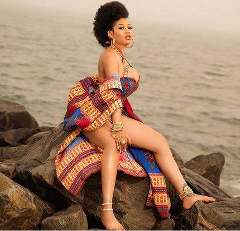 Toyin Lawani Sets Instagram On Fire With Eye-Popping Photos To Celebrate 38th Birthday