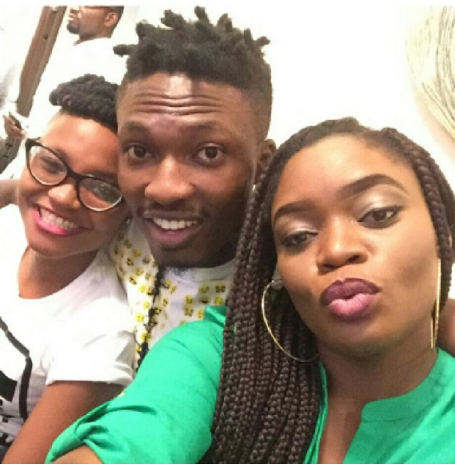 Marvis, Efe and Bisola.