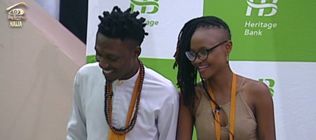 Efe and Marvis while in the House, during one of their tasks.