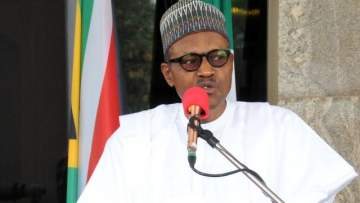 """Steal public money, go to jail"" - President Buhari tells Nigerians"