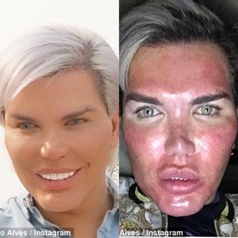 Human Ken Dol - Before & After