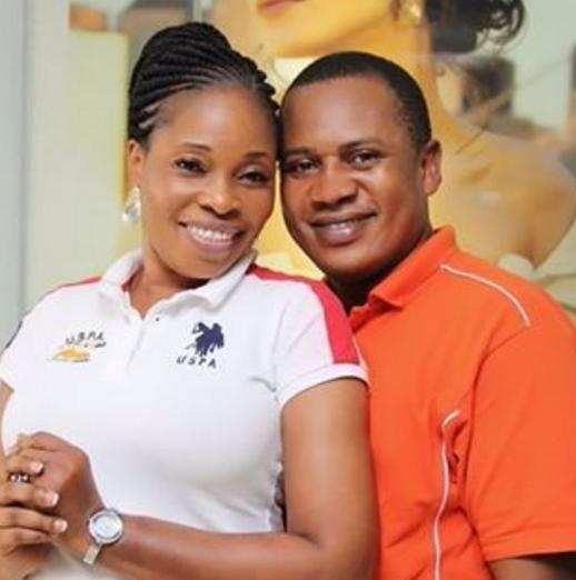 Tope Alabi and Her Husband.