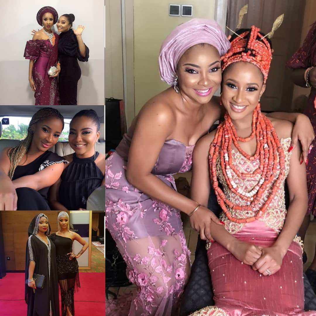 We have been through a lot together - Read Adesua Etomi's lovely birthday message to BFF, Linda Ejiofor