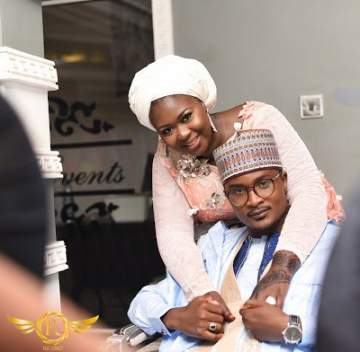 Lovely Wedding Photos Of An Hausa Couple Who Met On Twitter.