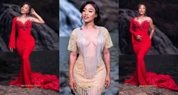 Tonto Dikeh flaunts her stunning new figure following cosmetic surgery (Photos)