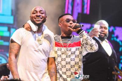 "Wizkid shades Davido after his crew listed 5 reasons ""Assurance"" is better than ""Fever"""