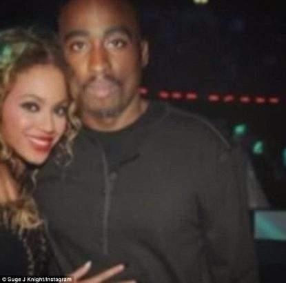 Tupac With Beyounce