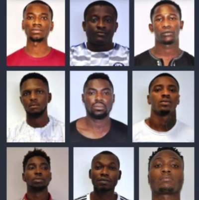 EFCC arrests 9 yahoo boys in Abuja