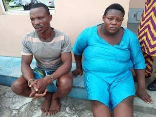 Couple who killed their son and buried him over alleged wizardry, paraded with other criminals (Photos)