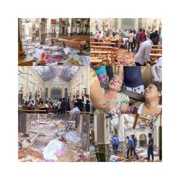 Over 156 people dead as multiple 'bombs' hit churches in Sri Lanka