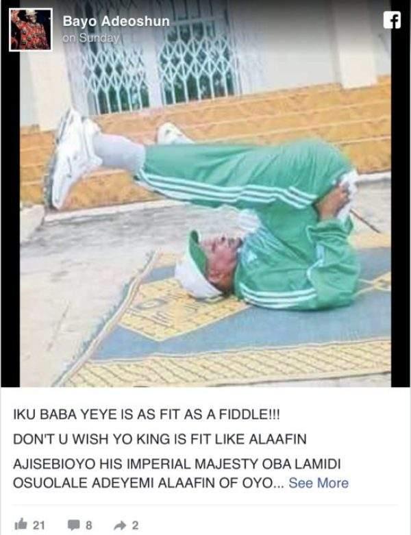 Alaafin Of Oyo Acrobat