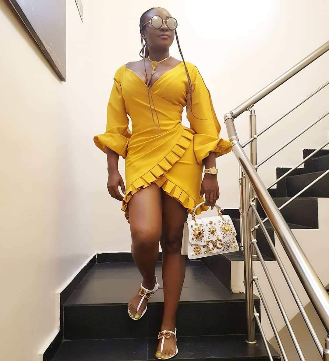 Nollywood actress, Ini Edo shares stunning photos