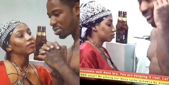 #BBNaija 2019: Drunk Mercy flirts with Ike, says she wants him, but not in the Big Brother House (Video)