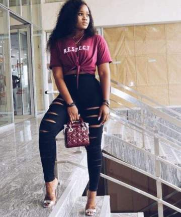 Cee-C Steps Out In Stylish Designer Outfit