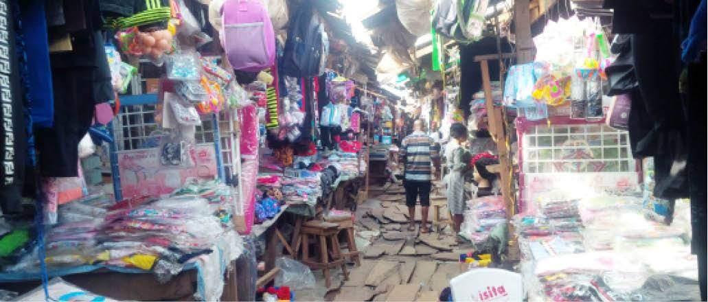 Underwears Section At Ekiosa Market Benin