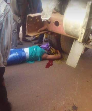 Final year UNN student crushed to death while returning from class.