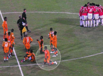 Player Gets Five-Game Ban For Urinating On Pitch