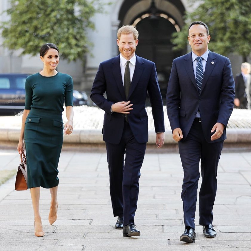 Prince Harry Meghan Markle Ireland Visit BellaNaija 1