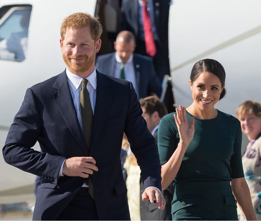 Prince Harry Meghan Markle Ireland Visit BellaNaija 2