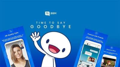BlackBerry Messenger (BBM) is shutting down on May 31st