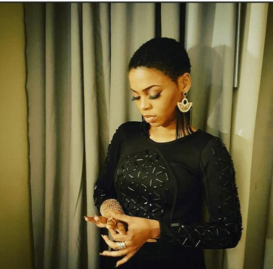 Chidinma Stuns In Black Photo