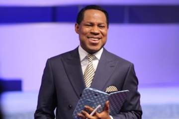Wow! Pastor Chris Oyakhilome Gifted With Private Jet From Members Of His Church.