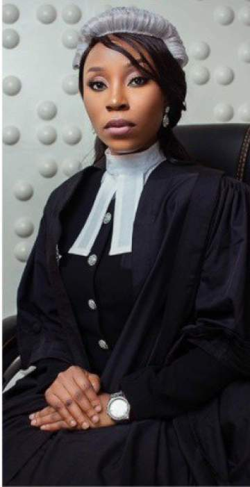 Daughter Of The First Female SAN From South-East Nigeria, Called To Bar 23 Years After Appearing in Court With Her Mum