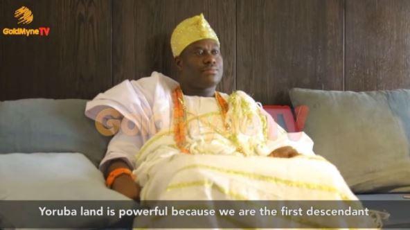 """Adam And Eve were black and created In Garden of Edena in Ile-Ife"" - Ooni Of Ife Reveals"