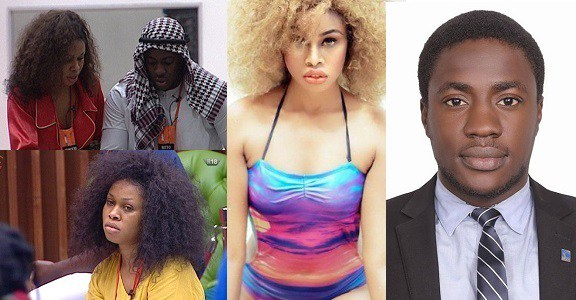 Princess and Bitto Evicted from the Big Brother Naija Show 2018.