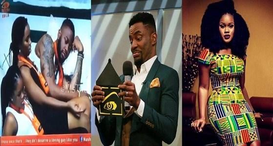 #BBNaija: Cee-c talks down on Ebuka, the host of the reality show (Video)