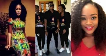 #BBNaija: Cee-C's fans rock their own customized T-Shirts