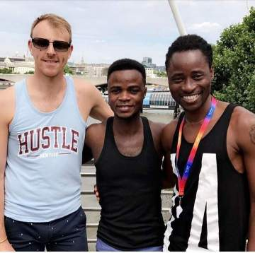 """""""Dear son, your daddies are proud of you"""" - Bisi Alimi declares support for Nigerian guy who recently came out as gay"""