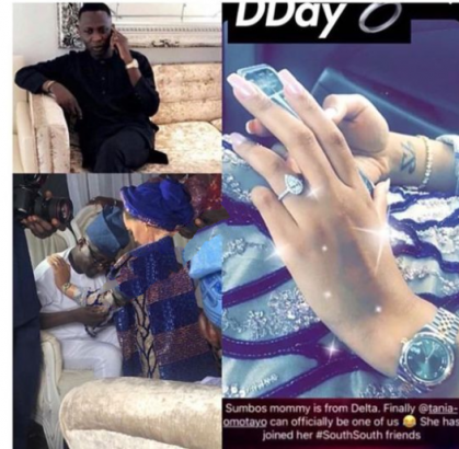 Tania Omotayo holds traditional wedding with Buzzbar co-owner, Sumbo (photos)