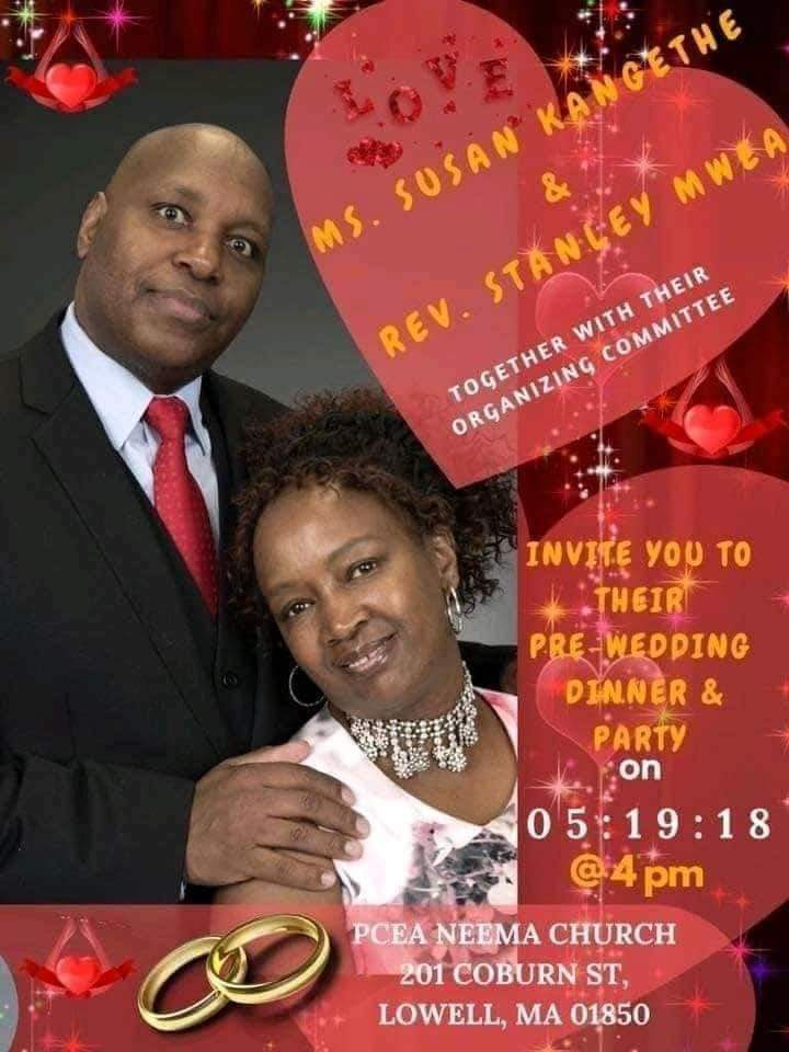 US-based Kenyan pastor holds 3 Pre-wedding dinner parties with two different women within few months (Photos)
