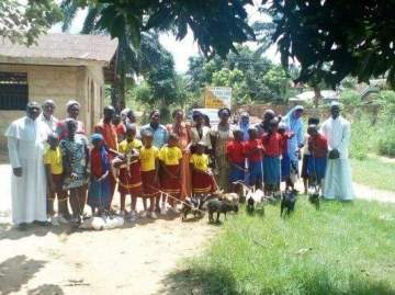 Best students awarded with brand-new goats in Anambra. (Photos)