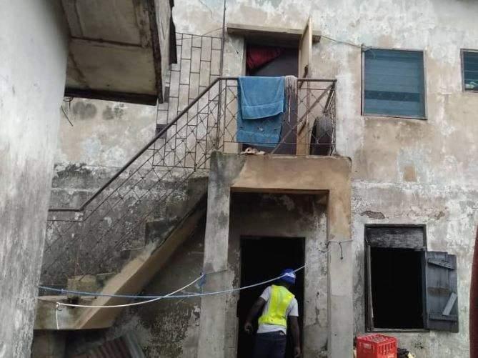 Collapsed In Lagoss