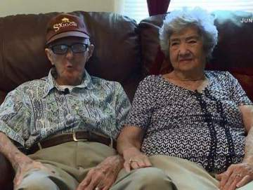 Elderly couple die on the same day after 71 years of marriage