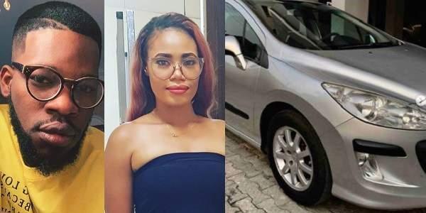 Broda Shaggi Buys Aunty Shaggi A Brand New Car (Photos)