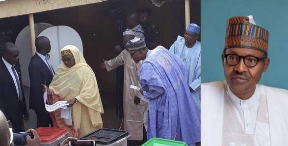 Buhari Election Voted 0 1