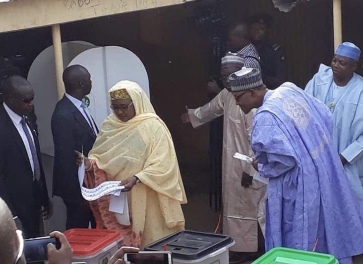 Buhari Election Voted 0