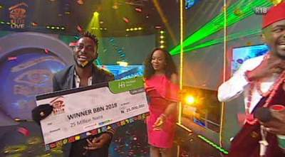 Did You Miss It? WATCH Miracle's #BBNaija Winning Moment (Video)