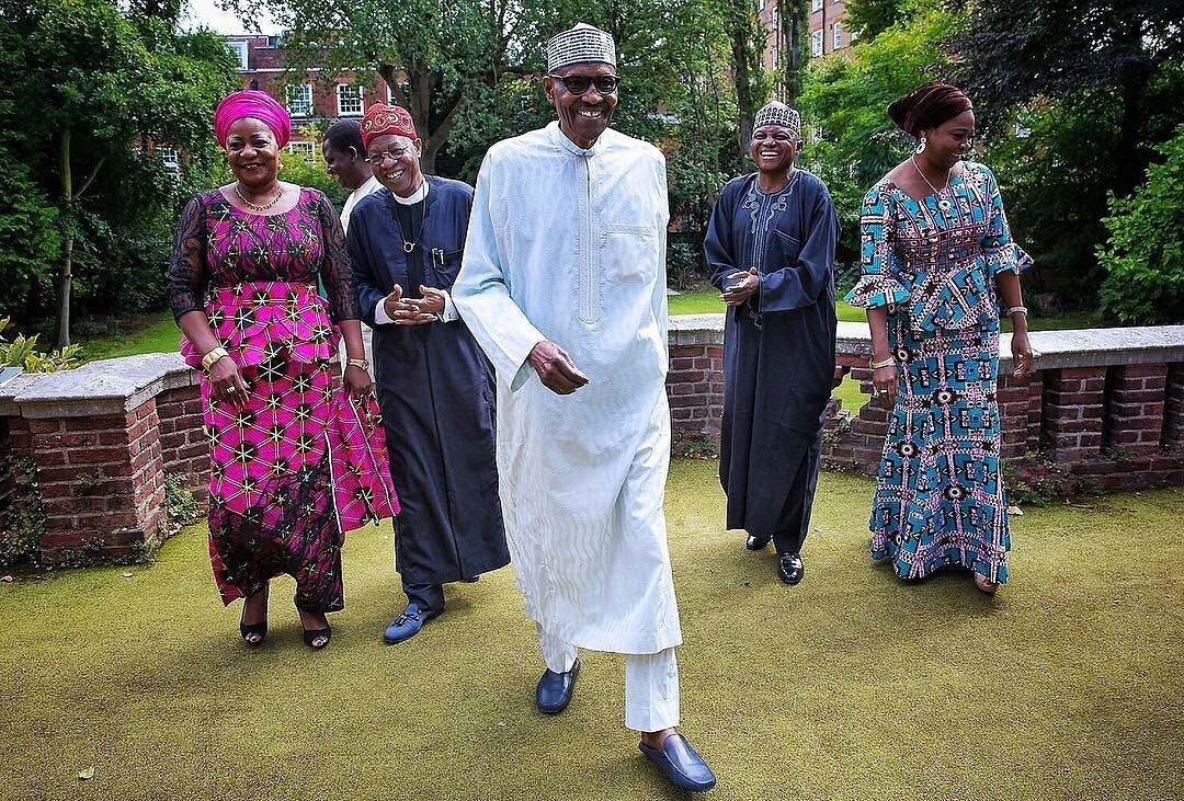 President Buhari Meets His Media Team