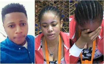 #BBNaija: Nina's boyfriend, Collins reaches out to her after she cried in the diary room