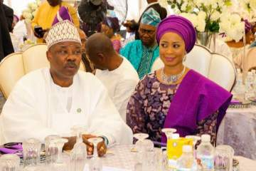 """""""I've Never Had A Girlfriend In The Past 26 Years"""" - Governor Amosun Refutes Pregnancy Reports."""