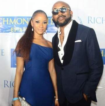 Banky W And His Lovely Wife, Adesua, Step Out Looking Fabulous.