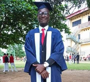 Young Nigerian man who survived cruel attack after being accused of witchcraft, graduates from high school